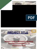 Haagen-Daz PPT by Illuminate