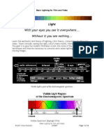 Basic Lighting for Film and Video I