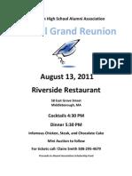 Grand Reunion Poster 2011