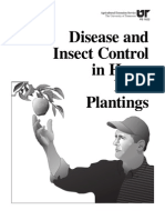 Disease and Insect Control in Home Fruit Plantings Extremlym