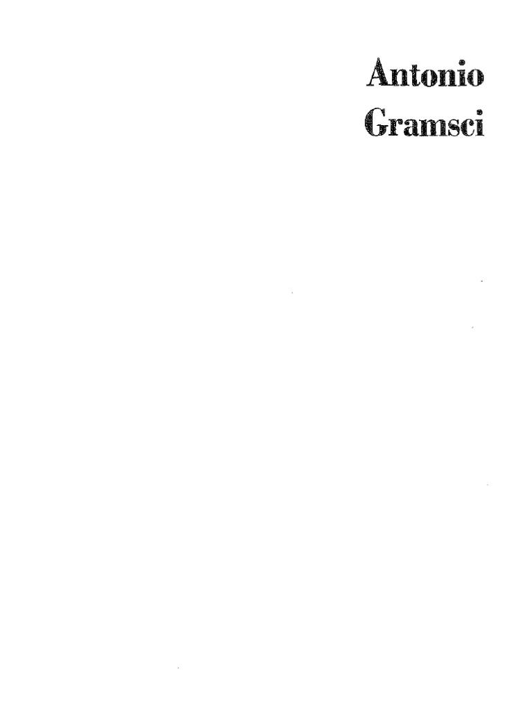 Antonio Gramsci - Cuadernos de la cárcel - tomo 1