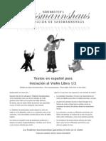 Violin Libro