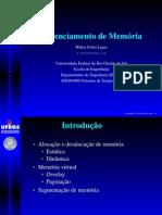 Gerenciamento de memória UFRS