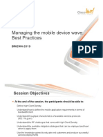 Managing the Mobile Device Wave for Enterpise Wireless Networks