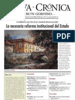 Nueva_Crónica_087 - La necesaria reforma institucional del Estado