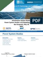Distribution System Models
