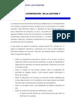 Evaluacion e Intervencion de La Lectura y Escritura1