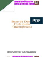 Manual Usuario Inscripción