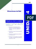 Unidad_4 Direcciones de Ip