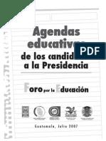 Agendas Educativas