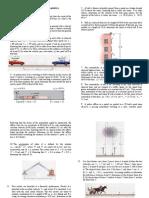 Problem Set2 Dynamics