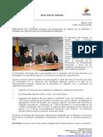 Embajador de Ecuador anunció en Barcelona el inicio de la emisión y entrega de certificado de antecedentes penales. Foto63