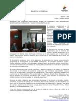 Ministro del Interior ecuatoriano firmó un convenio con Universidad Española para formacion y capacitacion de poliía. foto 60