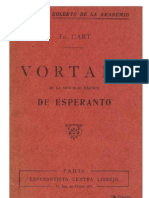 CART, Th. - Vortaro de La Oficialaj Radikoj de Esperanto