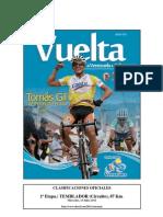 #Ciclismo FULL Resultados Etapa 1 #Vuelta a #Venezuela #VVen