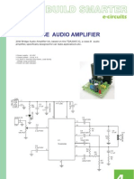 20W Bridge Audio Amplifier