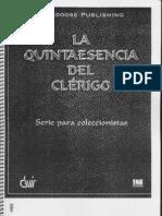 La Quintaesencia Del Clérigo