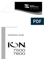 PM7500 7600 Installation Guide