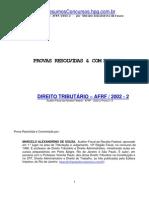 (eBook Portugues Direito) Provas Resolvidas - Afrf - 200