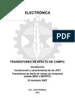 Transistores de Efecto de Campo