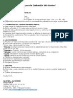 pasos del proceso de Evaluación 360