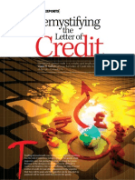 Demystifying the Letters of Credit