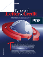 Types of Letter of Credit