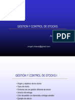 Gestion y Control de Stocks