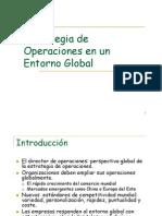 Estrategias Operativas en un Entorno Global