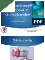 Hipertiroidismo y Graves Presentacion