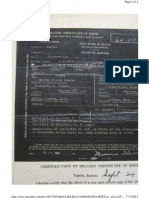 Elizabeth C. Reeves Delayed Birth Certificate