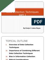 M Data Coll & Tech          M