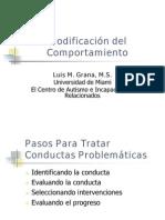 Luis Grana Modificacion Del Comportamiento Extended