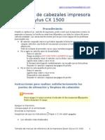 Fallas Impresora Epson Stylus CX1500