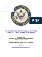 FCIC Report 07-13-11