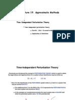 Quantum mechanics course Stationary Pt