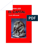 Louis Althusser - Guía para leer el Capital.