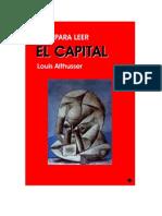 Louis Althusser - Guía para leer el Capital.