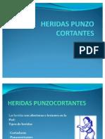 HERIDAS PUNZO CORTANTES