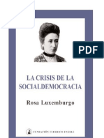 Rosa Luxemburgo - La Crisis de La Democracia