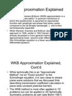 Quantum mechanics course wkb1