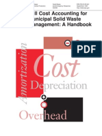 Full Cost Accounting for MSW