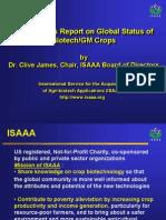 2007 ISAAA Report on Global Status of Biotech,GM Crops