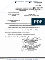 Plaintiffs' Motion to Recuse or Disqualify Judge Duffey