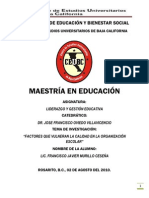 Monografia Liderazgo y Gestion Educativa