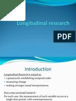 Longitudinal Research 1