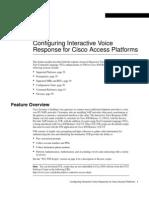 Configuring IVR for Cisco
