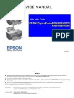 Epson Stylus Photo r260 r265 r270