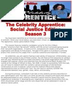 Celeb Apprentice Season 3 Assignment
