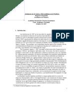 Turbulencias en El Centro y Mercantilismo en La Periferia Roque Fernandez